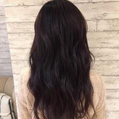 ロング コンサバ 波ウェーブ ゆるふわ ヘアスタイルや髪型の写真・画像