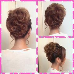 和装 ヘアアレンジ アップスタイル 結婚式 ヘアスタイルや髪型の写真・画像