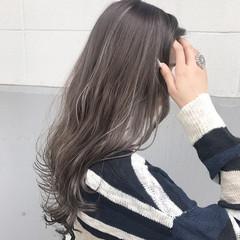 透明感 アンニュイ ロング 秋 ヘアスタイルや髪型の写真・画像
