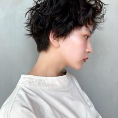 ショート ベリーショート  可愛い ヘアスタイルや髪型の写真・画像