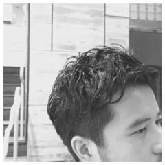 メンズ 刈り上げ ショート ストリート ヘアスタイルや髪型の写真・画像