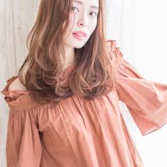 セミロング モテ髪 ナチュラル ヘアアレンジ ヘアスタイルや髪型の写真・画像