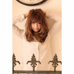 ロング 春 コンサバ 卵型 ヘアスタイルや髪型の写真・画像