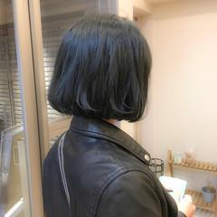透明感 ナチュラル ヘアアレンジ ボブ ヘアスタイルや髪型の写真・画像