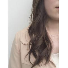 コンサバ 外国人風 ブラウン フェミニン ヘアスタイルや髪型の写真・画像
