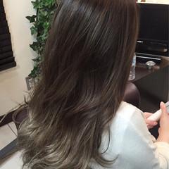 暗髪 渋谷系 ロング ストリート ヘアスタイルや髪型の写真・画像