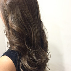 ガーリー ハイライト 外国人風 アッシュ ヘアスタイルや髪型の写真・画像