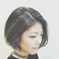ハイライト ストリート インナーカラー グラデーションカラー ヘアスタイルや髪型の写真・画像