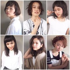 暗髪 ウェットヘア ヘアアレンジ ナチュラル ヘアスタイルや髪型の写真・画像