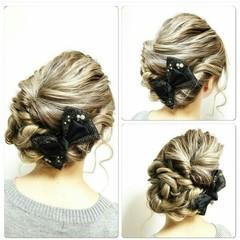 ヘアアレンジ 大人かわいい 結婚式 かわいい ヘアスタイルや髪型の写真・画像
