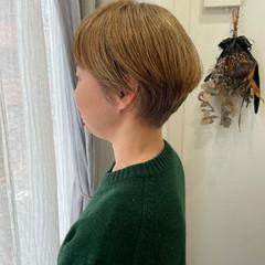 ショートヘア モード ショート ブリーチ ヘアスタイルや髪型の写真・画像