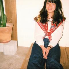 ミディアム 前髪あり ストリート 大人女子 ヘアスタイルや髪型の写真・画像