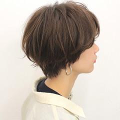 ショートボブ 小顔ショート ショートヘア ショートバング ヘアスタイルや髪型の写真・画像