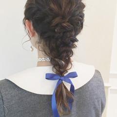ミディアム ヘアアレンジ 結婚式 大人女子 ヘアスタイルや髪型の写真・画像