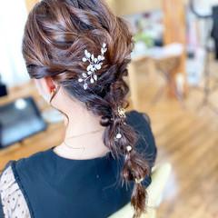 ロング 大人女子 ナチュラル ヘアアレンジ ヘアスタイルや髪型の写真・画像