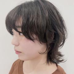 ナチュラル ショート ウルフカット ウルフ女子 ヘアスタイルや髪型の写真・画像