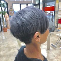 ショート ブリーチカラー モード ブリーチ必須 ヘアスタイルや髪型の写真・画像