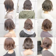 デート パーマ ヘアアレンジ 簡単ヘアアレンジ ヘアスタイルや髪型の写真・画像