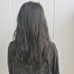 外国人風カラー ロング 外国人風 ハイライト ヘアスタイルや髪型の写真・画像