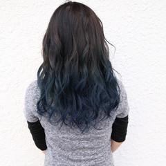 外国人風 ブルージュ グラデーションカラー ブリーチ ヘアスタイルや髪型の写真・画像