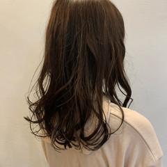 透明感 圧倒的透明感 ロング グリーン ヘアスタイルや髪型の写真・画像