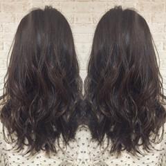 ナチュラル 暗髪 ロング 大人かわいい ヘアスタイルや髪型の写真・画像