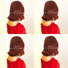 ナチュラル ボブ オルチャン 渋谷系 ヘアスタイルや髪型の写真・画像
