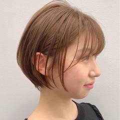 ベリーショート ショートボブ ショート ガーリー ヘアスタイルや髪型の写真・画像