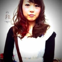 黒髪 アッシュ オレンジ イエロー ヘアスタイルや髪型の写真・画像