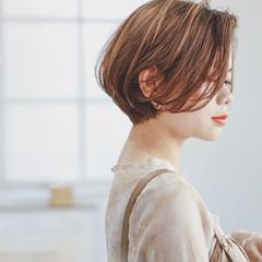 ショートヘア ショート 銀座美容室 大人かわいい ヘアスタイルや髪型の写真・画像