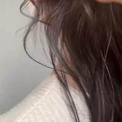 グラデーションカラー グラデーション ナチュラル インナーカラー ヘアスタイルや髪型の写真・画像