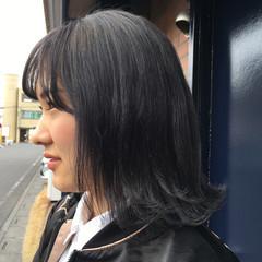 透明感 ストリート 外国人風 グレー ヘアスタイルや髪型の写真・画像
