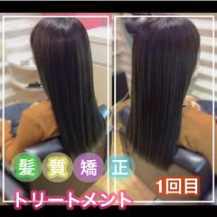うる艶カラー 大人ロング ロング 髪質改善カラー ヘアスタイルや髪型の写真・画像