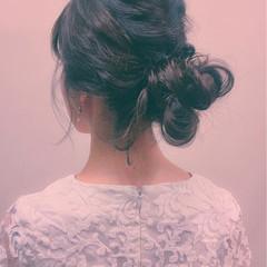大人女子 アップスタイル ショート パーティ ヘアスタイルや髪型の写真・画像