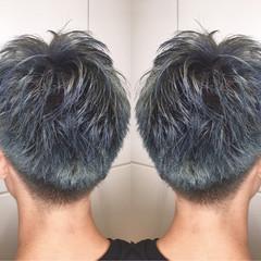 モード ハイライト ボーイッシュ ショート ヘアスタイルや髪型の写真・画像