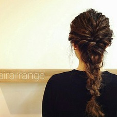 大人かわいい 結婚式 ヘアアレンジ ロング ヘアスタイルや髪型の写真・画像