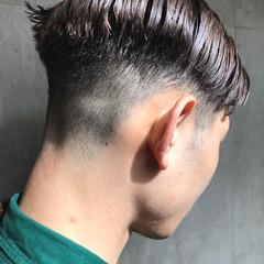 メンズ ミルクティー モード アッシュ ヘアスタイルや髪型の写真・画像