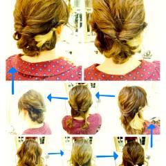 モテ髪 コンサバ まとめ髪 愛され ヘアスタイルや髪型の写真・画像
