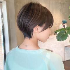 丸みショート フェミニン 表参道 大人可愛い ヘアスタイルや髪型の写真・画像