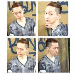 ショート モード 外国人風 ボーイッシュ ヘアスタイルや髪型の写真・画像