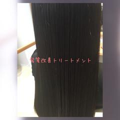 トリートメント 暗髪 ストレート ロング ヘアスタイルや髪型の写真・画像