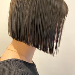 ボブ ショートボブ ショートヘア ナチュラル ヘアスタイルや髪型の写真・画像