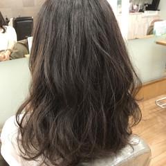 キュート パーマ ゆるふわ ロング ヘアスタイルや髪型の写真・画像