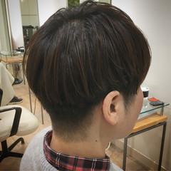 ナチュラル ベリーショート ショート 刈り上げ ヘアスタイルや髪型の写真・画像