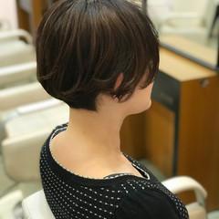 ベリーショート ショートヘア ミニボブ モード ヘアスタイルや髪型の写真・画像