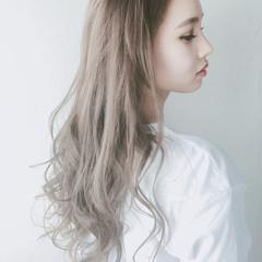 ナチュラル イルミナカラー ハイライト ヘアアレンジ ヘアスタイルや髪型の写真・画像