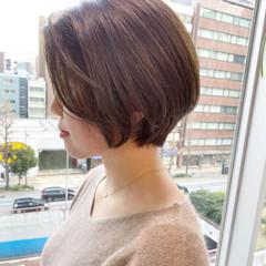 ショート ショートヘア 大人かわいい ショートボブ ヘアスタイルや髪型の写真・画像