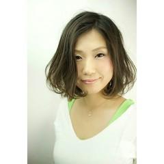 フェミニン 大人かわいい アッシュ ゆるふわ ヘアスタイルや髪型の写真・画像