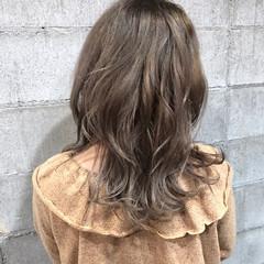 ウェーブ ロング ガーリー ゆるふわ ヘアスタイルや髪型の写真・画像