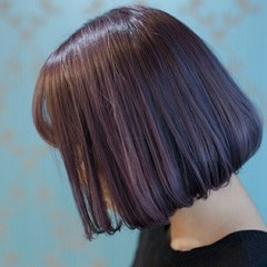 グレー ダブルカラー ストリート グラデーションカラー ヘアスタイルや髪型の写真・画像